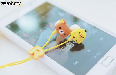 rilakkuma earphones