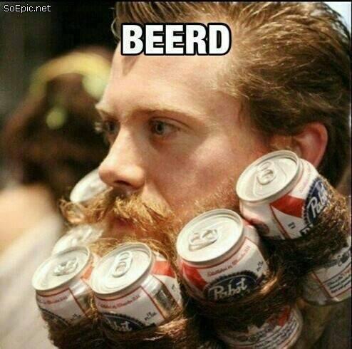beer + beard = Beerd!