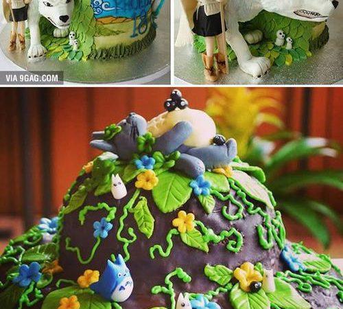 Best Anime Totoro cakes ever