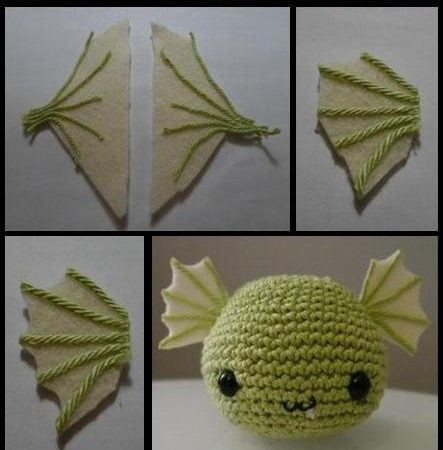 How to make a cute dragon from wool