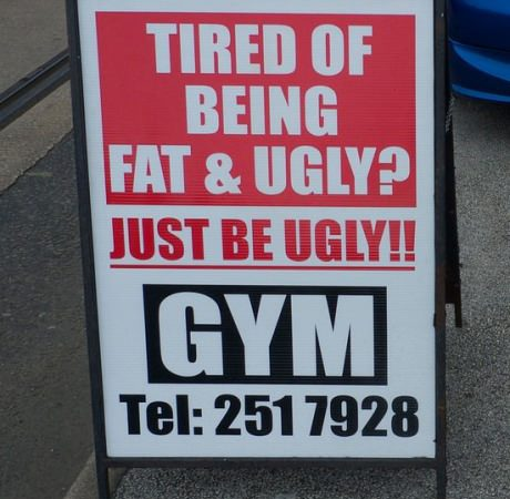 Stop being fat and ugly