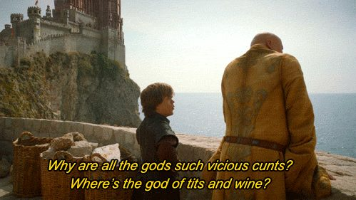 God of tits and wine