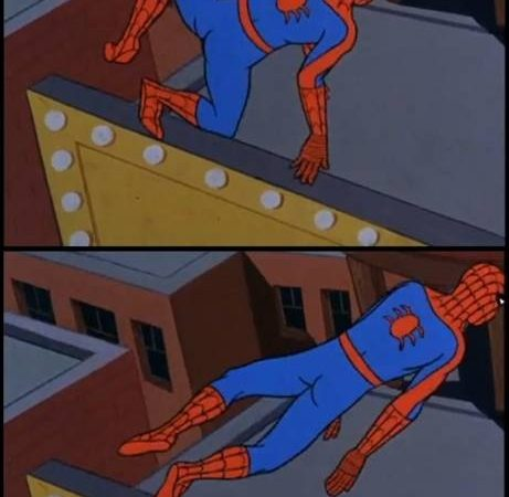 Spider-Man is now a frog
