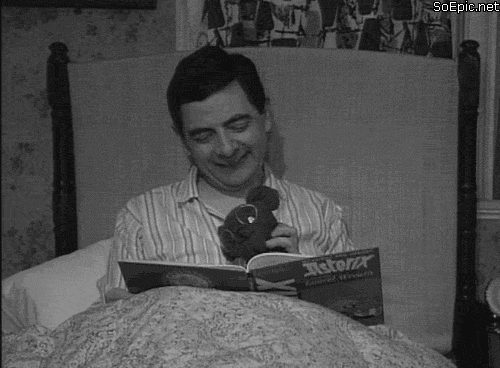 Mr. Bean and Teddy bedtime story