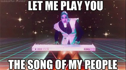 let me play you the song of my people