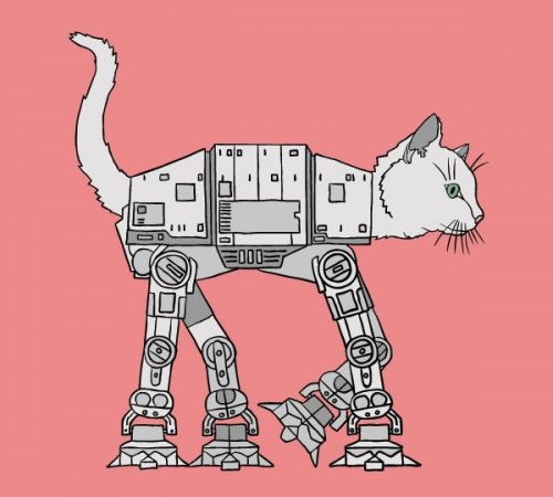 AT-AT Walker – when you like Cats and Star Wars