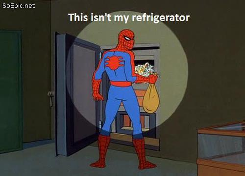 wait… this is not my refrigerator