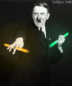 Party hard Adolf the Raver