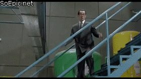 Walking Down Stairs Like a Boss