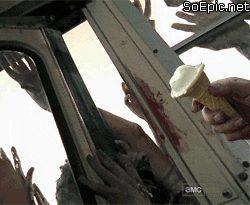 The Walking Dead Ice cream
