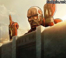 Titan had enough – reaction