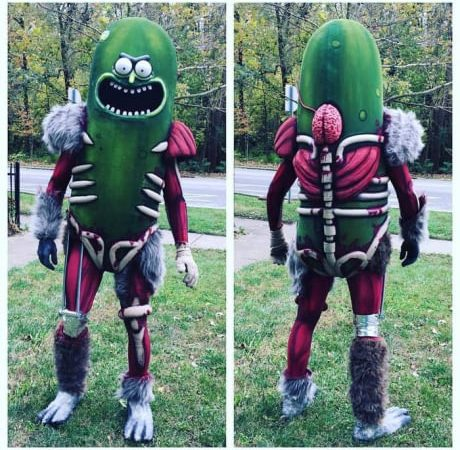 Pickle Rick Cosplay