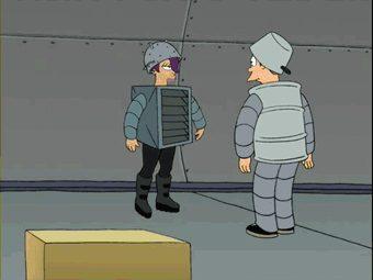 Futurama – Leela Robot Dance