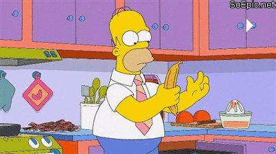 The Simpson- bacon banana