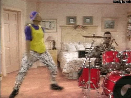 The Fresh Prince of Bel-Air dances