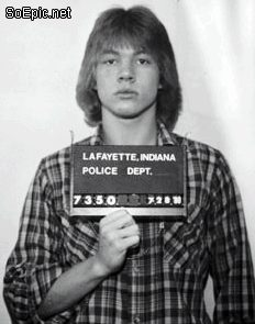 Famous people and their mugshots