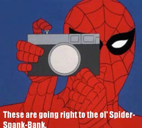 Naughty Spider-Man