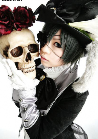 perfect Ciel Phantomhive cosplay