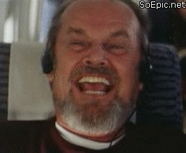 laughing Jack Nicholson reaction