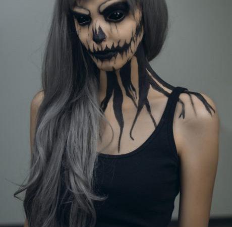 skeleton body paint