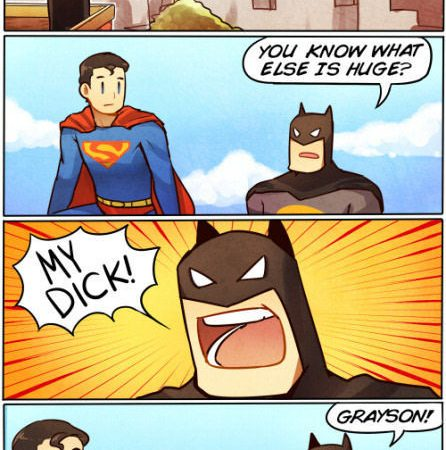 Perverted Batman